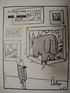 Mr. Mum Elephant Picture